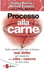 Processo alla Carne eBook Michele Emiliano