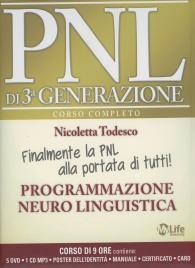 PNL di 3° Generazione - Corso Completo 5 DVD, 1 CD Mp3 e Manuale Nicoletta Todesco