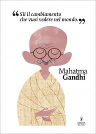 Poster Mahatma Gandhi Mikel Casal