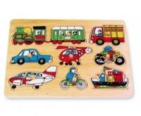 Puzzle ad Incastro Traffico - Legler