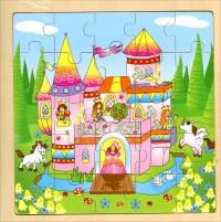 Puzzle in Legno - Principesse - Crealibri