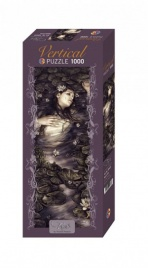 Vertical Puzzle Waterlilies - 1000 Pezzi