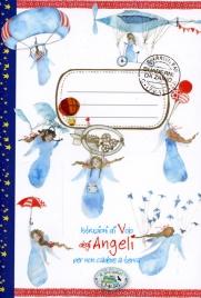 Quaderno da Zaino - Istruzioni di Volo degli Angeli Per Non Cadere a Terra
