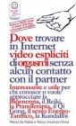 Reiki - Dove trovare in Internet Video Espliciti di Orgasmi Senza Alcun Contatto con il Partner (eBook) Marco Fomia, Milena De Mattia