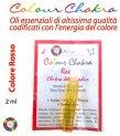 Chakra Blend Rosso 2 ml - Vitalità, Passione, Fiducia, Radicamento