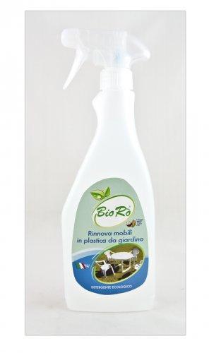 Detergente rinnova mobili in plastica da giardino for Mobili da giardino in plastica