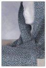 Sciarpa In Lino, Cotone e Altre Fibre Jeans Melange