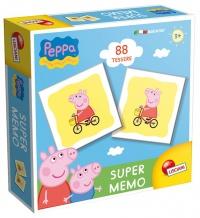 Super Memo Peppa Pig - 88 Tessere - 3 Anni Lisciani Giochi