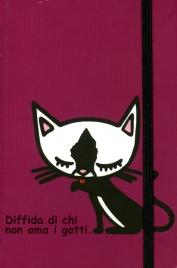 Taccuino - Diffida di chi non Ama i Gatti