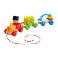 Trenino Trainabile Triplo - Triple Play Train - Hape