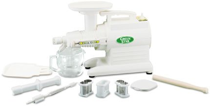 Tribest juicer green star gs 1000 tribest for Cucinare juicer