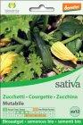 Zucchina Mutabile Sativa - zu12