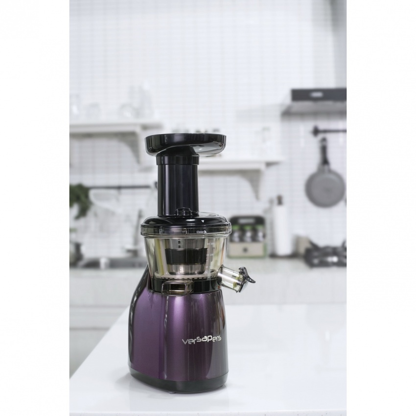 Cucina Red Slow Juicer Review : Estrattore di Succo - Centrifuga versapers - Emotion - Aubergine 3G - versapers