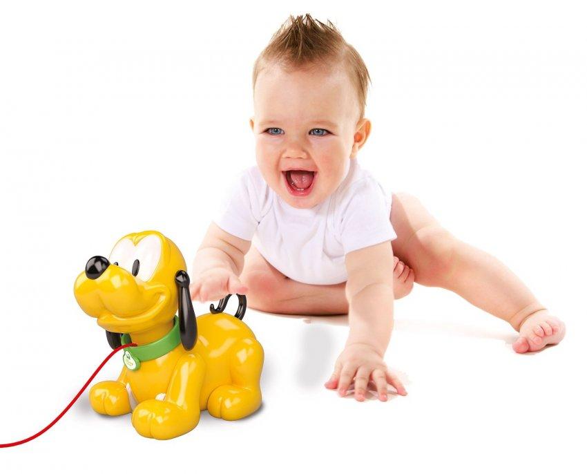 Baby pluto trainabile di clementoni for Immagini pluto baby