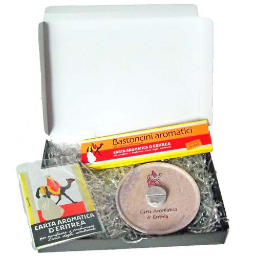 Confezione Regalo - Carta Aromatica d'Eritrea