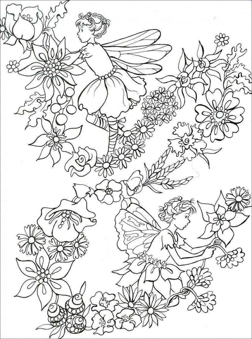 Fate da colorare macro c 39 arte libro for Disegno giardino da colorare