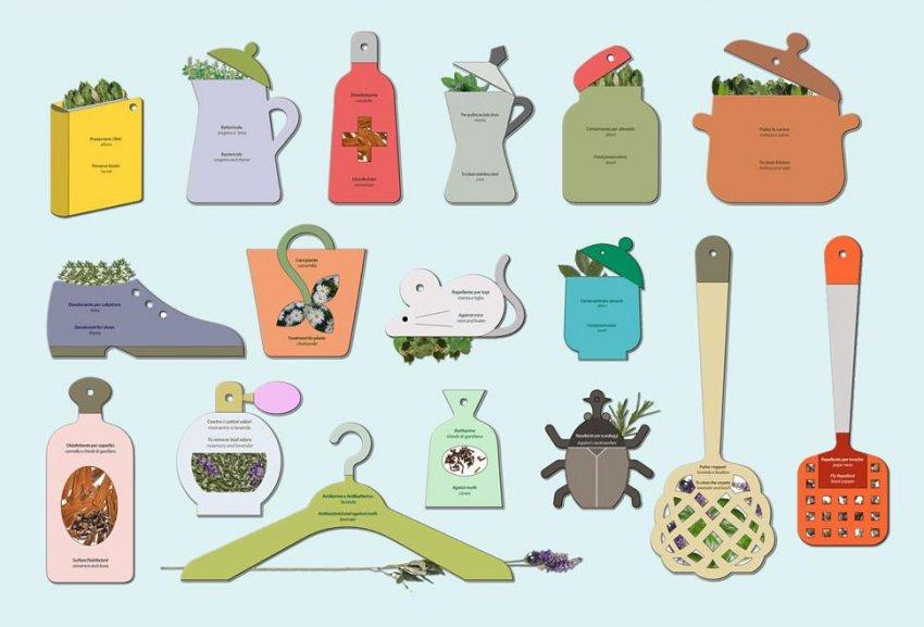 Grandmother Tips - Contro i Cattivi Odori Rosmarino e Lavanda
