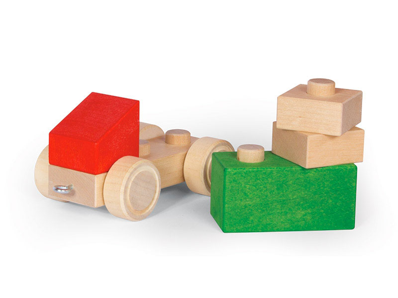 Macchinina in legno