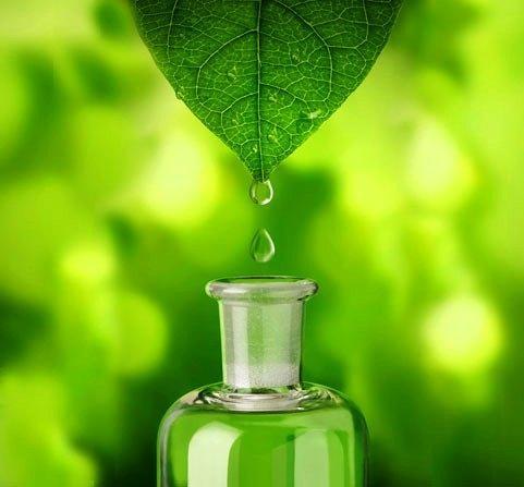 Olio essenziale verde