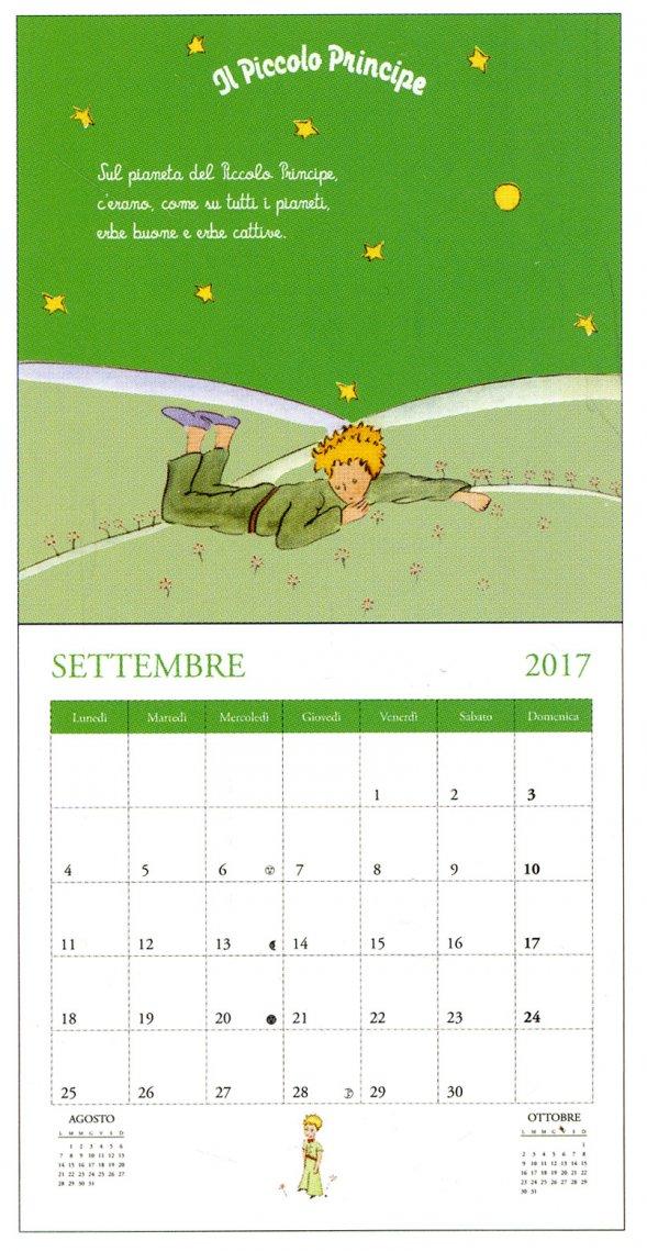 Il Piccolo Principe - Calendario da Parete 2017