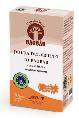 Polpa del Frutto di Baobab - 10 Bustine Monodose