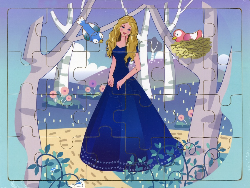 Principessa - Puzzle in Legno