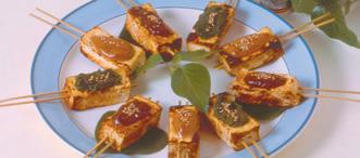 Spiedini di tofu alla giapponese