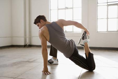 stretching immagine