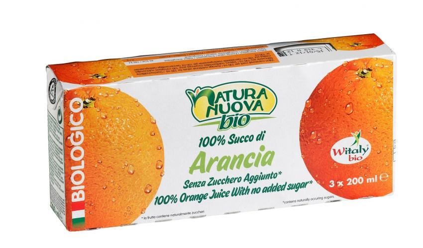 Succo di Arancia - 3 brik