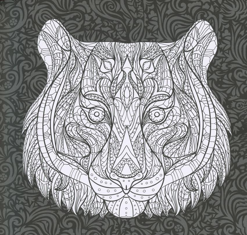 Foresta tropicale album antistress - Immagini di colorare le pagine del libro da colorare ...