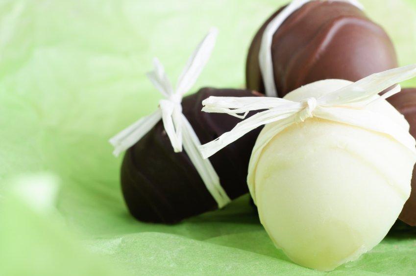 Uovo Cioccolato Bianco con Bevanda di Soia