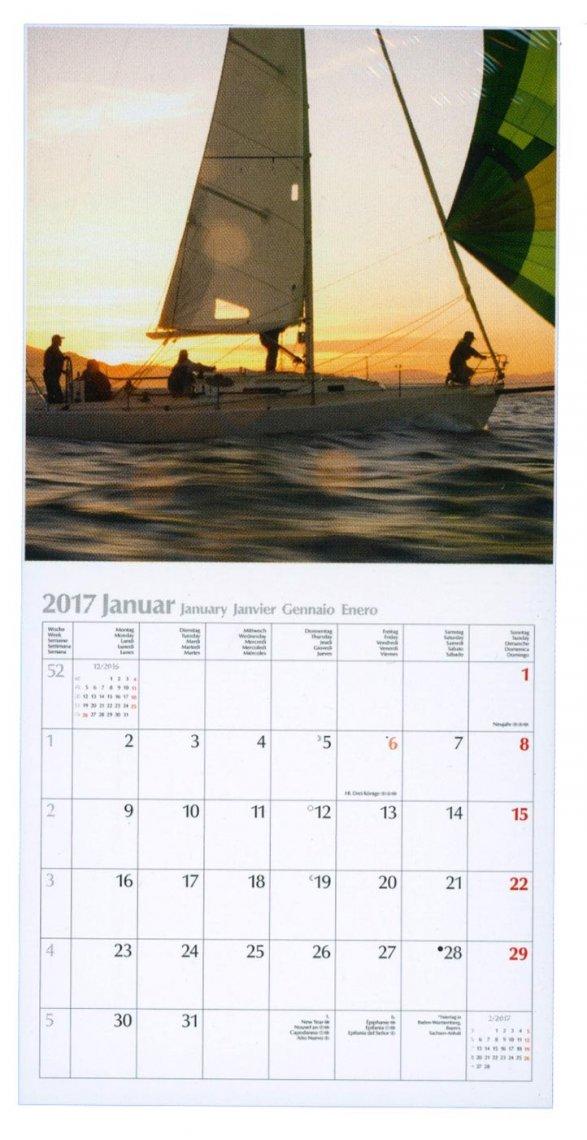 Calendario Sailing 2017