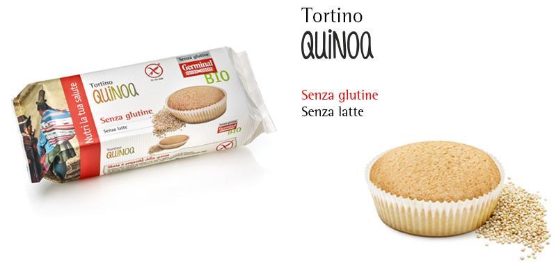 Tortino Senza Glutine - Quinoa