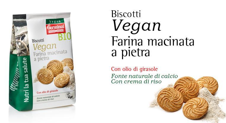 Biscotti Vegan - Farina Macinata a Pietra