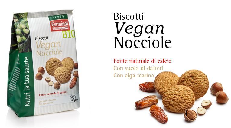Biscotti Vegan - Nocciole