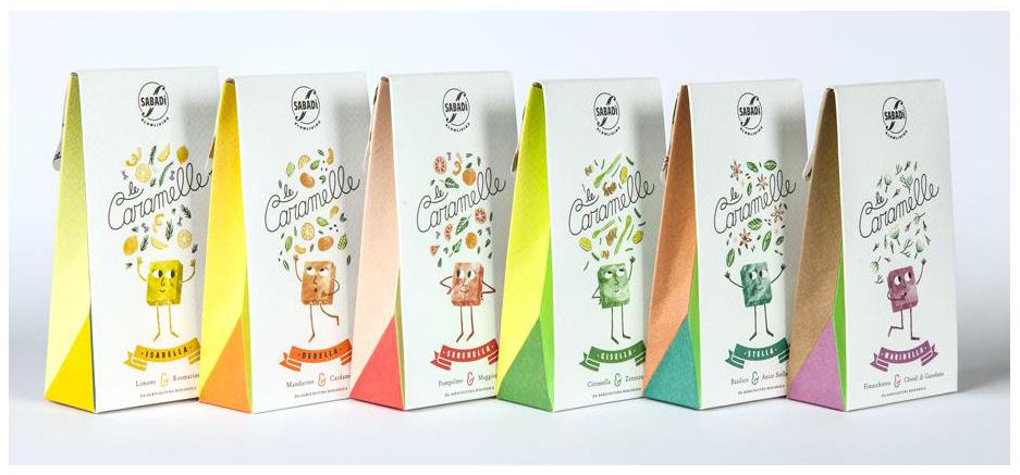 Le Caramelle Dedella - Mandarino e Cardamomo