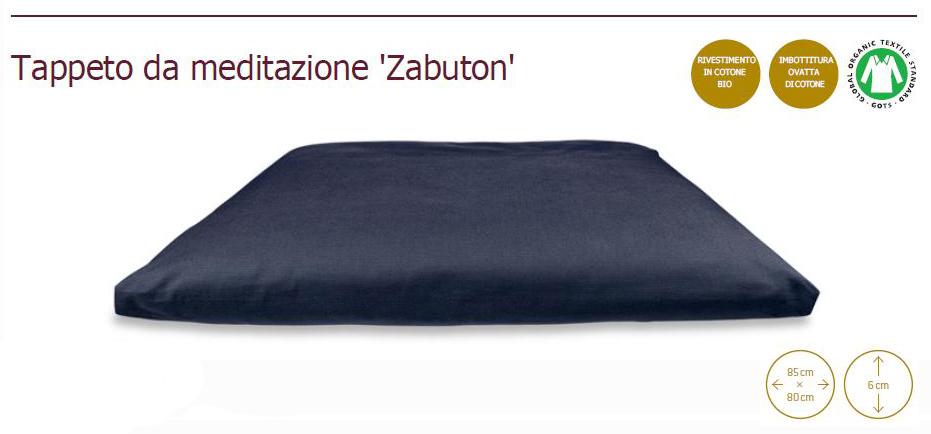 tappeto da meditazione zabuton