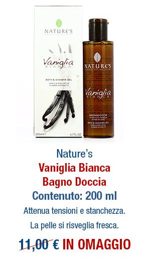 Omaggio Bagno doccia Vaniglia Bianca
