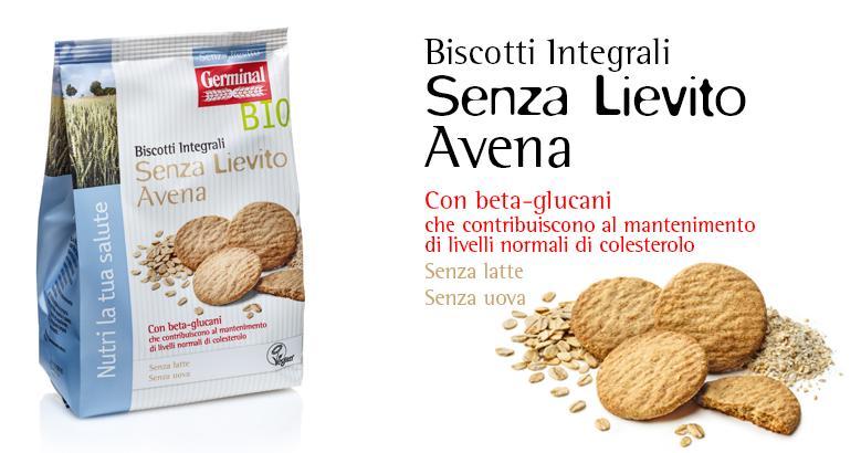 Senza Lievito - Biscotti Integrali Avena