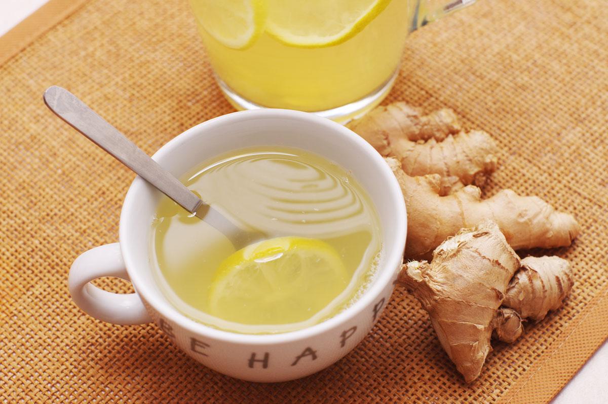 Tè Verde Cinese con Zenzero