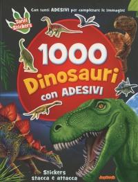 1000 Dinosauri con Adesivi