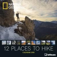 Calendario 2018 - 12 Places to Hike