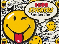 1600 Stickers - Emoticon Time