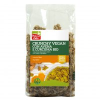 Crunchy Vegan con Avena e Curcuma Bio