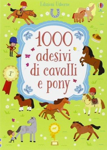 1000 Adesivi di Cavalli e Pony