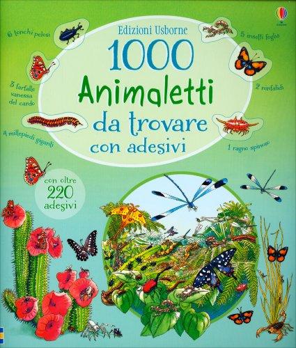1000 Animaletti da Trovare con Adesivi