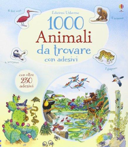1000 Animali da Trovare con Adesivi