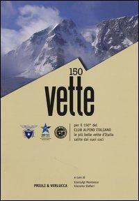 150 Vette per il 150° del Club Alpino Italiano