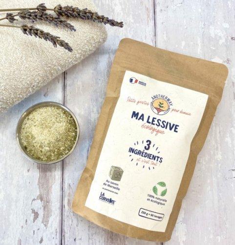 Detersivo Ecologico con Sapone di Marsiglia (Ricarica 250 g)