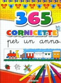 365 Cornicette per Un Anno - Giallo